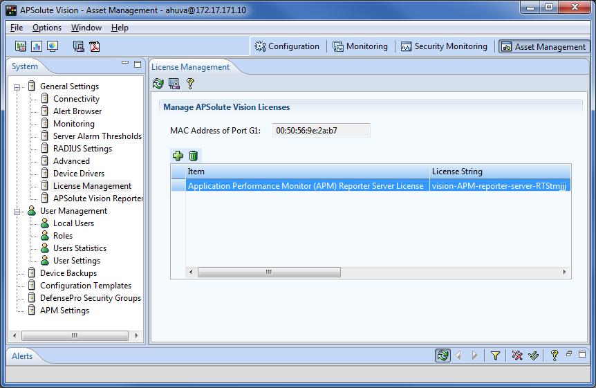 APSolute Vision with Embedded APM (SharePath) Server VA