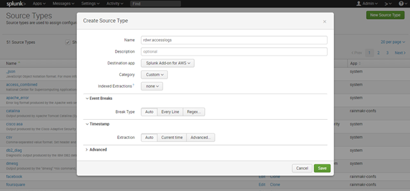 Collect Events To SIEM Example - AWS S3 To SPLUNK